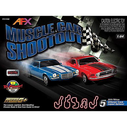 Affex Muscle Car Shootout, w/Lap Counter, Mustang/Camaro