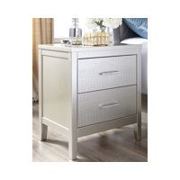 Signature Design by Ashley Olivet Silver Nightstand