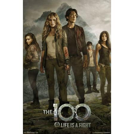 The 100 - Key Art Poster Poster Print