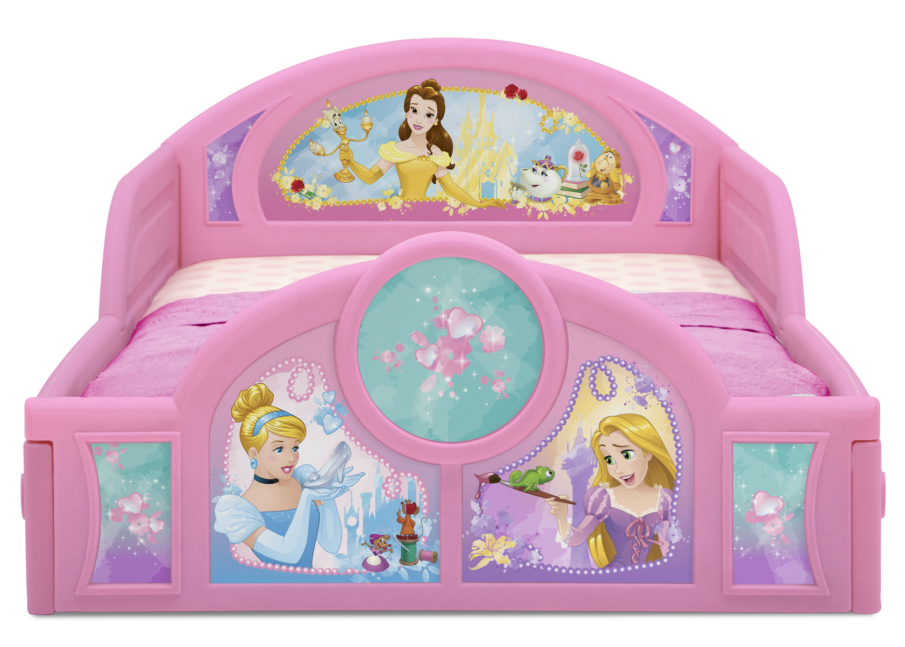 Disney Princess Plastic Sleep And Play Toddler Bed By Delta Children Walmart Com Walmart Com