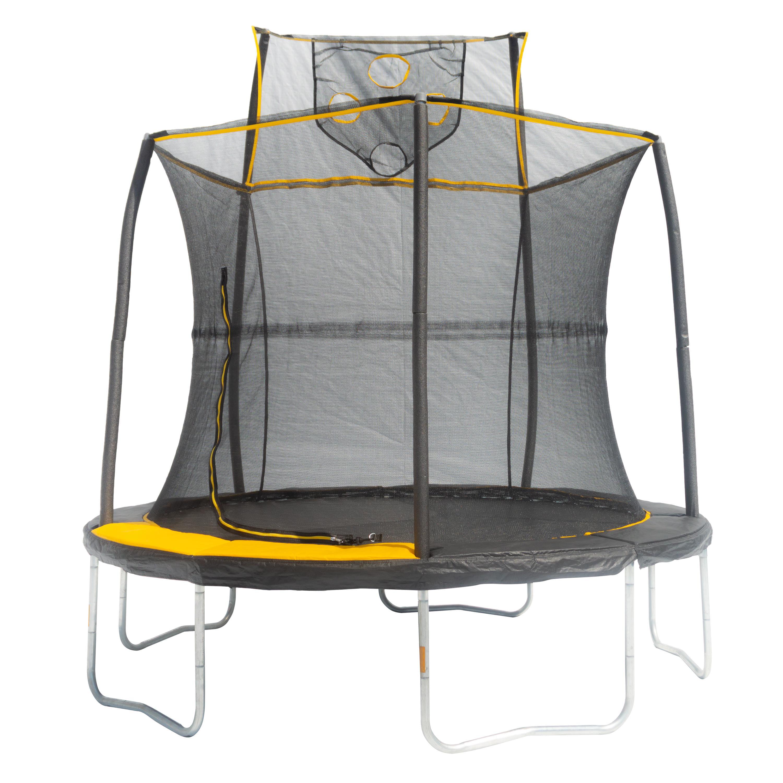 JumpKing 8-Foot Trampoline Kids Outdoor Activity Play Yard