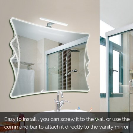 Led Mirror Light Bathroom Cabinet Lights 6000k Make Up Mirror Light Vanity Lighting Wall Lamps Ip44 Walmart Canada