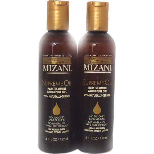 "Mizani Supreme Oil Hair Treatment, 4.1oz ""Pack of 2"""