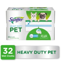 Mops & Accessories: Swiffer Sweeper Wet Heavy Duty Pet Mopping Pad Refills