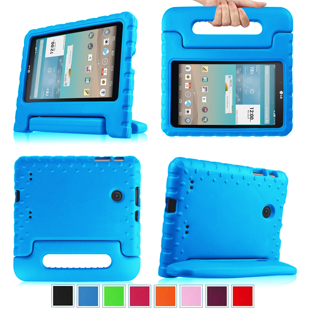 Fintie for LG G Pad 7.0-inch Tablet - Lightweight Kids Case Cover for Mode V400/V410 (LTE)/VK410/ UK410/ LK430, Blue
