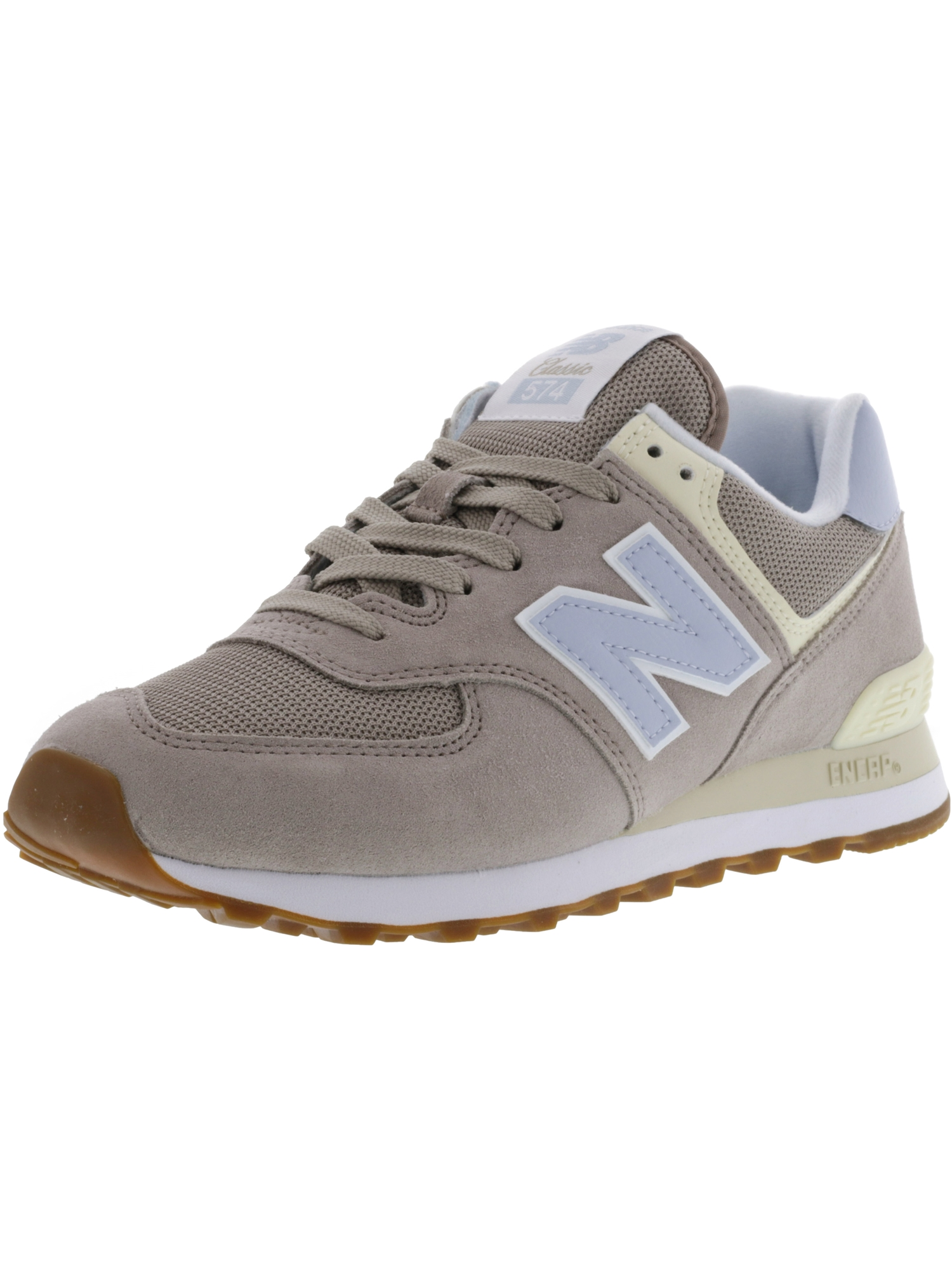 f9208846ab10 New Balance Women s L574 Nmb Ankle-High Leather Fashion Sneaker - 6.5M