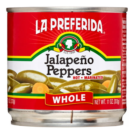 La Preferida Jalapeno Peppers, Whole, 11 Oz