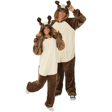 Rubies Deer Hooded Onesie Unisex Halloween Costume - Cat Bodysuit Costume