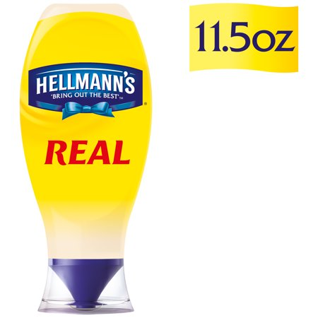 (2 Pack) Hellmann's Squeeze Real Mayonnaise, 11.5