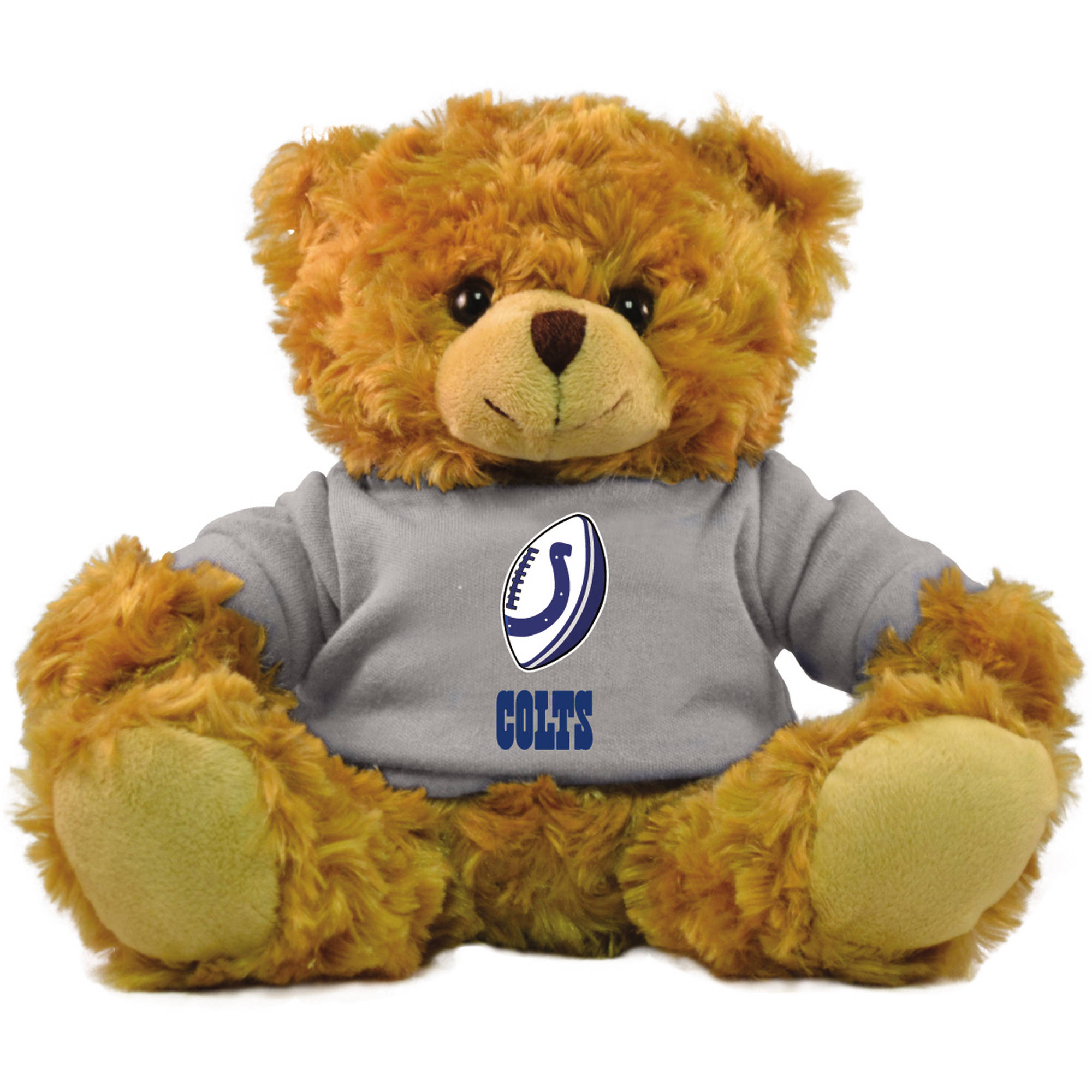 "Bleacher Creatures NFL 9"" Rally Men Hoodie Bear, Indianapolis Colts by Bleacher Creatures"