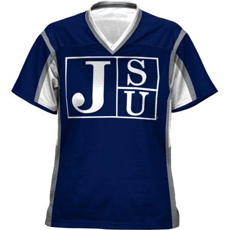 ProSphere Women's Jackson State University Scramble Football Fan Jersey - Jason Jersey