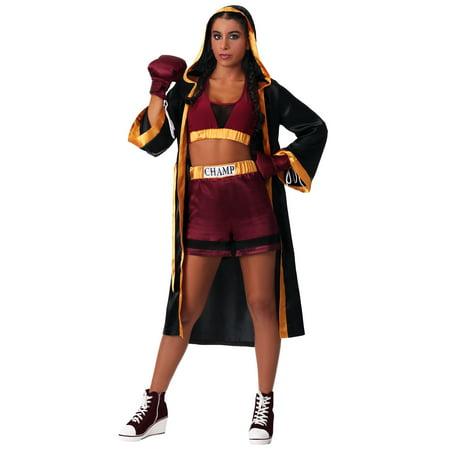Women's Tough Boxer Costume - image 2 de 2