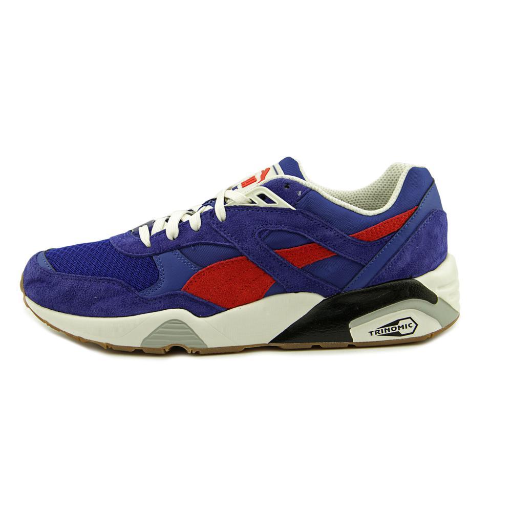Puma R698 ATHL Men  Round Toe Synthetic Blue Running Shoe