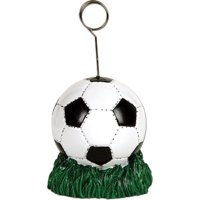 Pro Soccer Ball Card Photo Balloon Holder Player Party Decoration