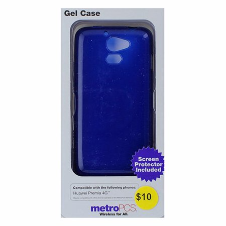 Metropcs Soft Gel Case For Huawei Premia 4G   Blue