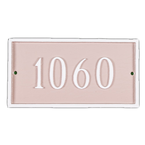 Montague Metal Products Inc. Petite Classic Rectangle Address Plaque
