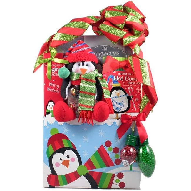 Gift Basket Drop Shipping PlPe-Lg Frost Bites, Holiday Gift Basket For Christmas - Large