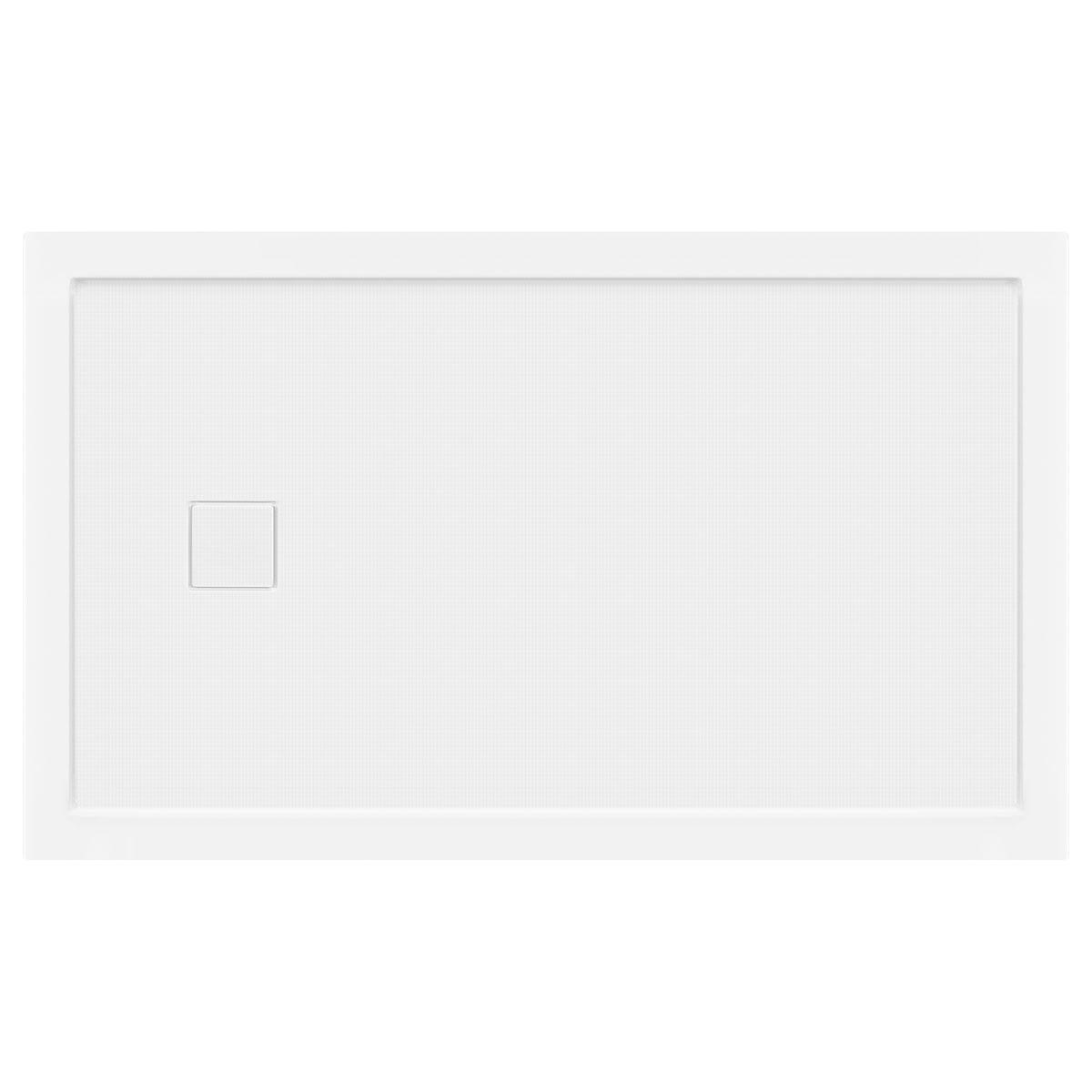 LessCare 60 x 36 Right Double Threshold Shower Pan Base Wall Corner Left Drain