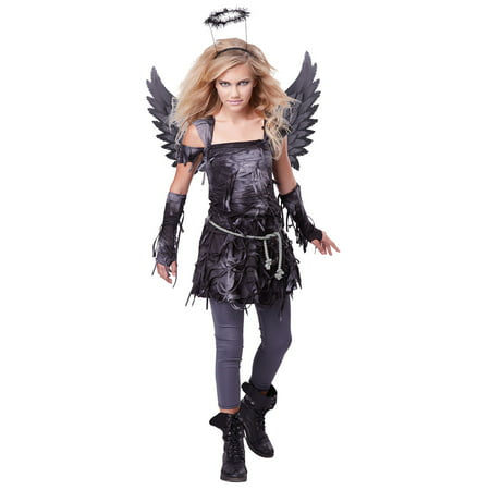 Girls Spooky Angel Halloween Costume - Halloween Costums For Girls