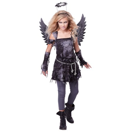 Girls Spooky Angel Halloween Costume - Angel Halloween Costumes