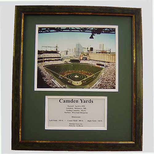 MLB 11x14 Deluxe Photo Frame, Camden Yards