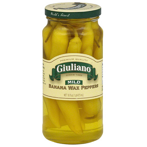 Giuliano Mild Banana Peppers, 16 Oz, (pa