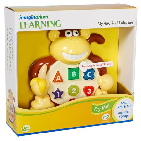 Imaginarium Early Learning Abc 123 Monkey By Toys R Us Ship From Us