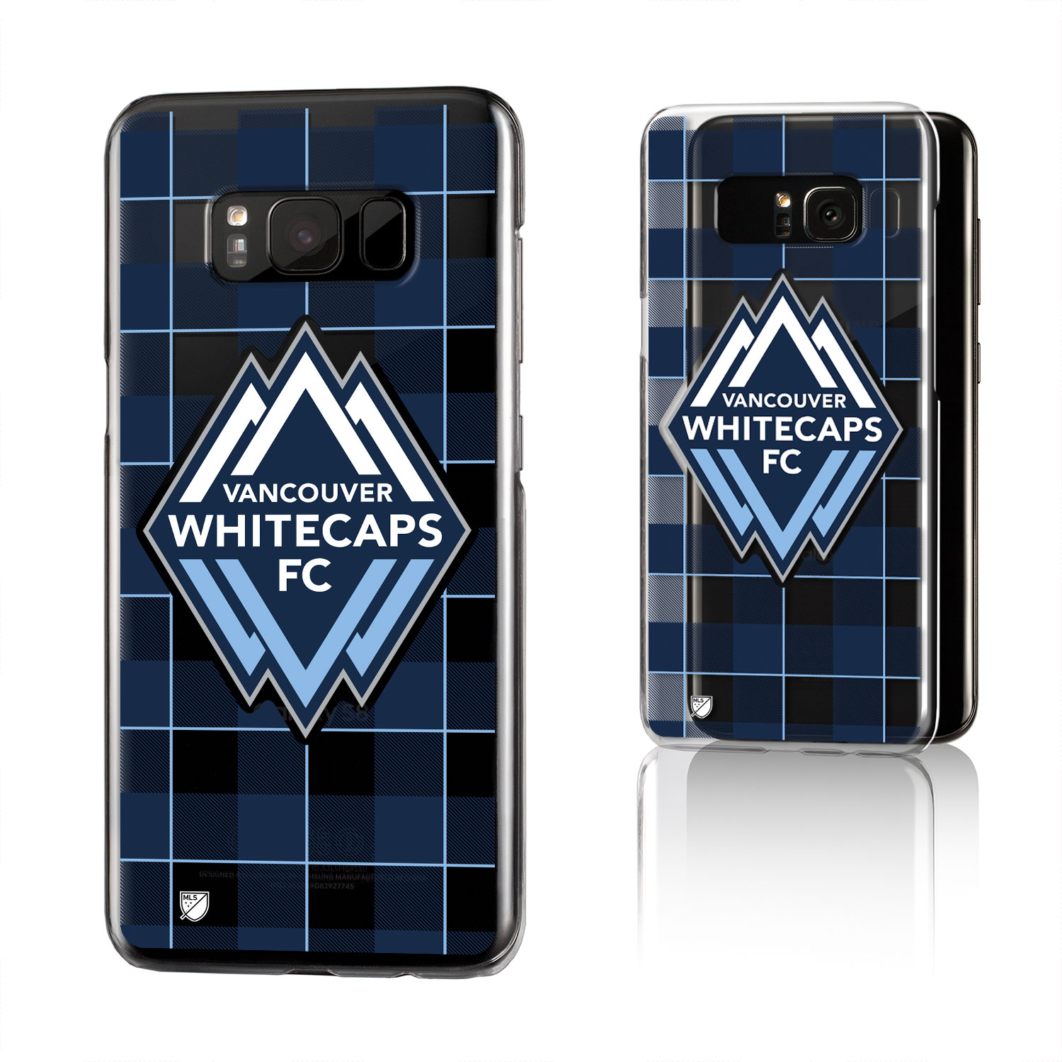 Vancouver Whitecaps SINCE 1974 Plaid Clear Case for Galaxy S8