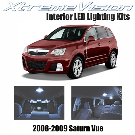 Xtremevision Led For Saturn Vue 2008 2009 9 Pieces Cool White Premium Interior