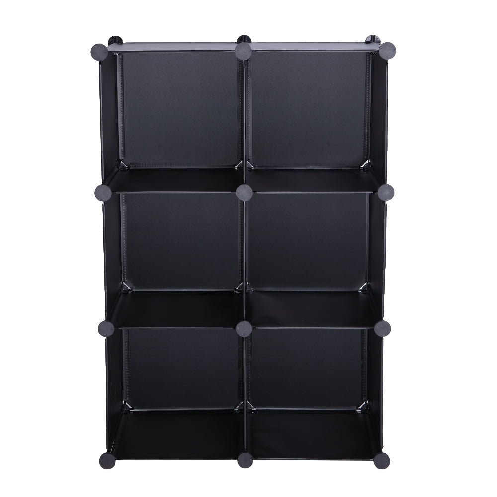 Cube Storage 6-Cube Closet Organizer Storage Shelves Cubes ...