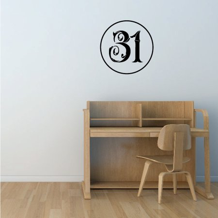 31 Wall Decal Vinyl Decal Car Decal Vd053 36 Inches