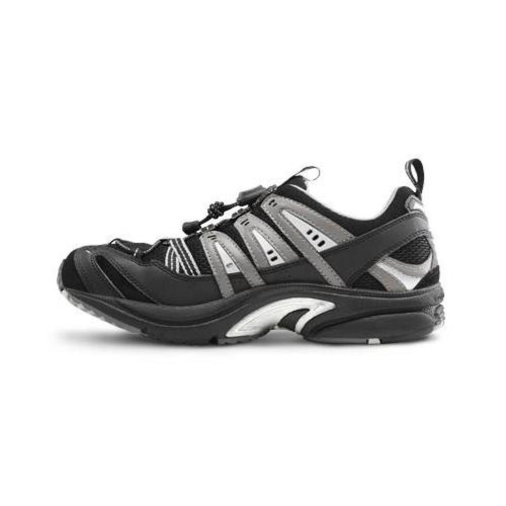 Dr. Comfort Performance-X Men's Therapeutic Diabetic Double Depth Shoe: Black 9.0 X-Wide (XW/6E) Elastic & Standard Lace