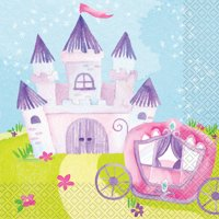 Magical Princess Party Lunch Napkins, 16ct
