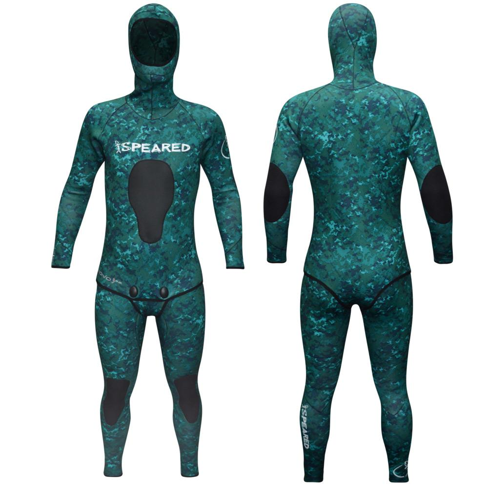 Speared Apparel Novo 3mm Camo Wetsuit by