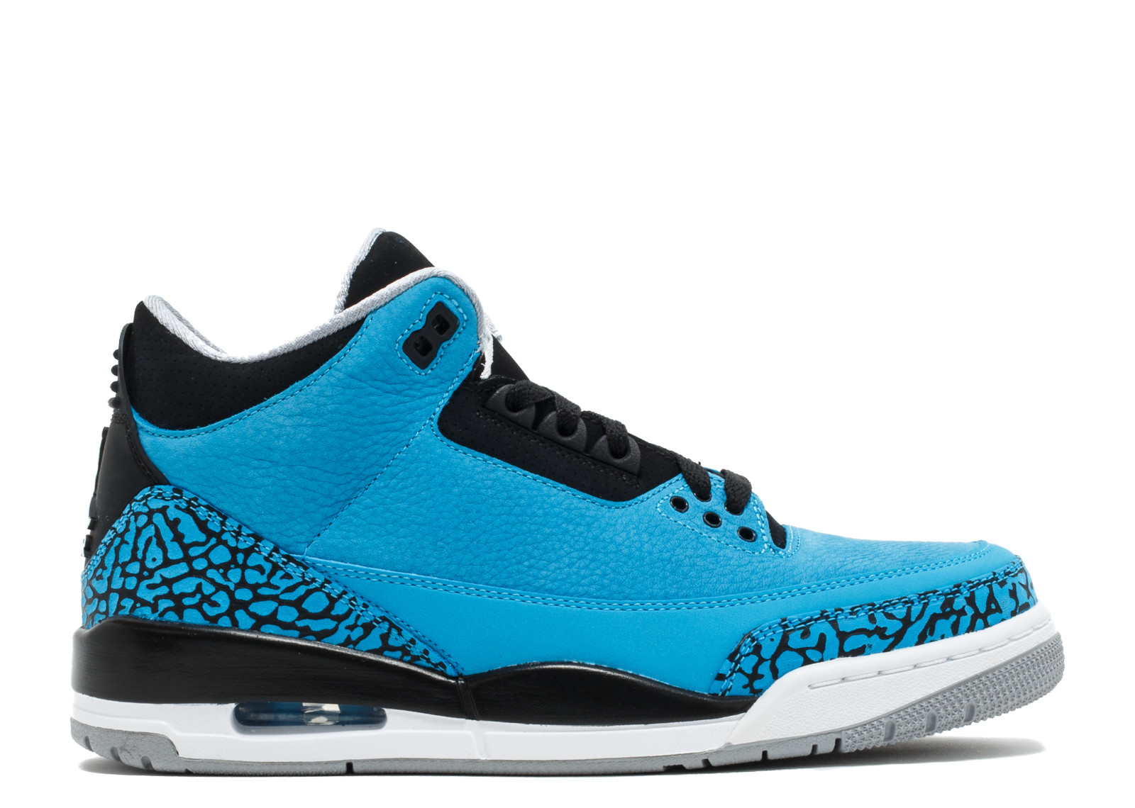 0d1c3cd0588d19 Air Jordan - Men - Air Jordan 3 Retro  Powder Blue  - 136064-406 - Size 8
