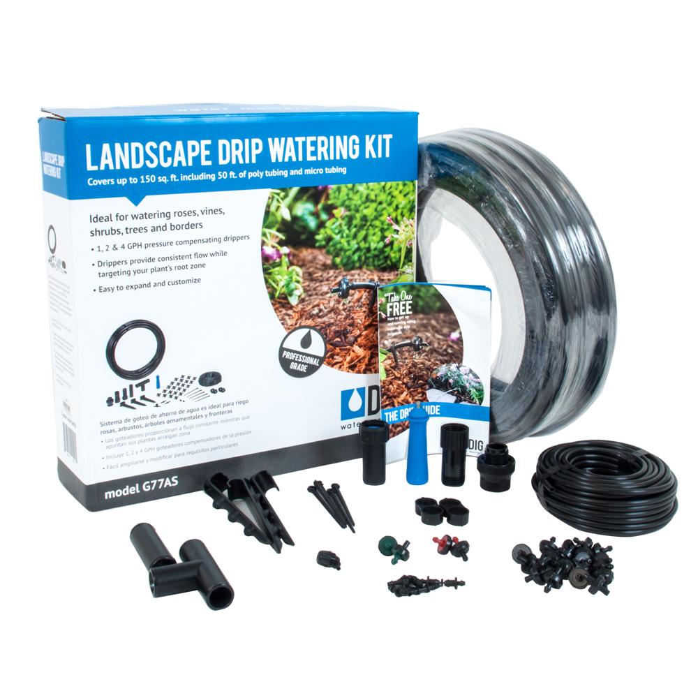 DIG Landscape Drip Irrigation Watering Kit