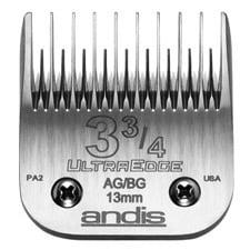 "Andis - UltraEdge Clipper Blade #3-3/4 Skip Tooth, Leaves Hair 1/2"" Long"