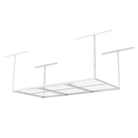 FLEXIMOUNTS 3x6 Heavy Duty Overhead Garage Adjustable Ceiling Storage Rack, 96