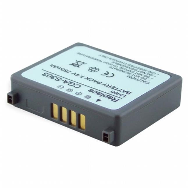 DENAQ DQ-R0837A DENAQ 600mAh Li-Ion Camera-Camcorder Battery for SAMSUNG - image 1 de 1