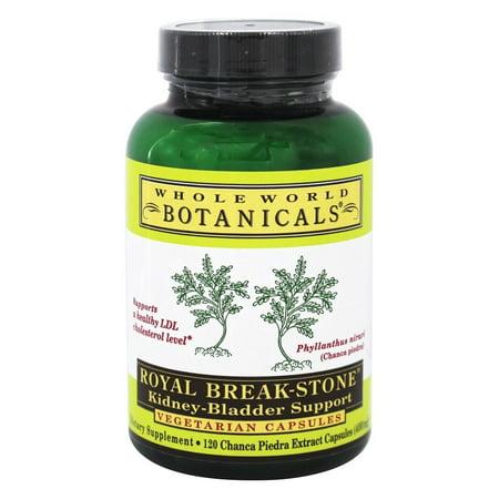 Royal Break Stone Kidney-Bladder Support Vegetarian Capsules- 400mg, (120