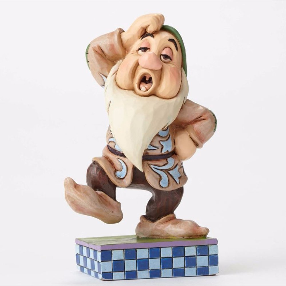 Jim Shore Disney Traditions Sleepy Slide Snow White Dwarf ...