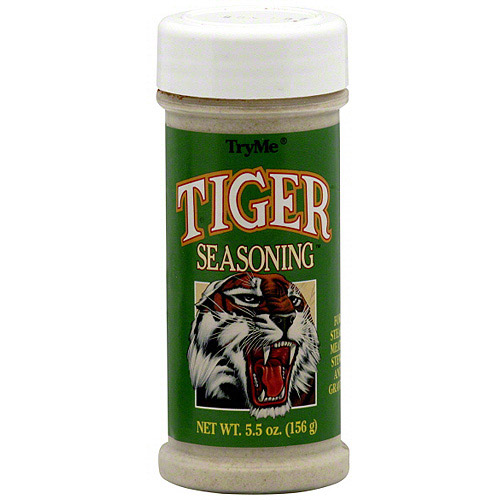 Try Me Tiger Seasoning, 5.5 oz (Pack of 12)