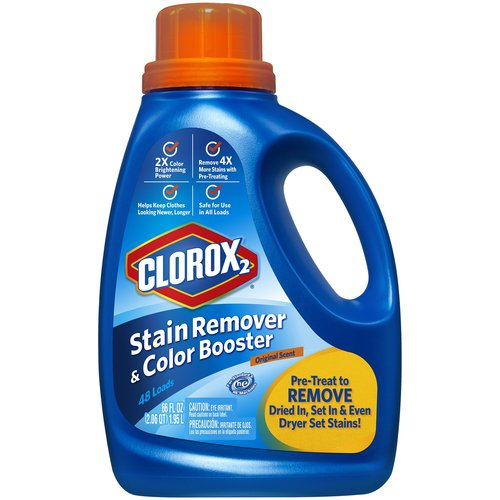 Clorox 2 Laundry Stain Remover and Color Booster, Original Scent, 66 oz