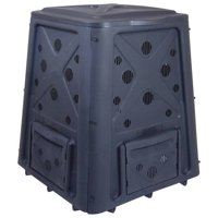 Redmon Green Culture 65 Gal. Composter - Black
