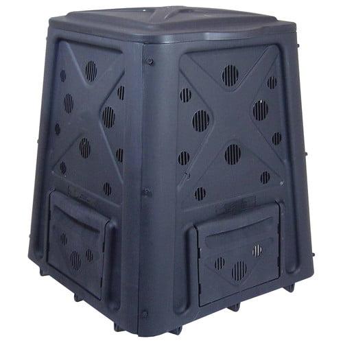 Redmon Green Culture 65 Gal. Composter - Black