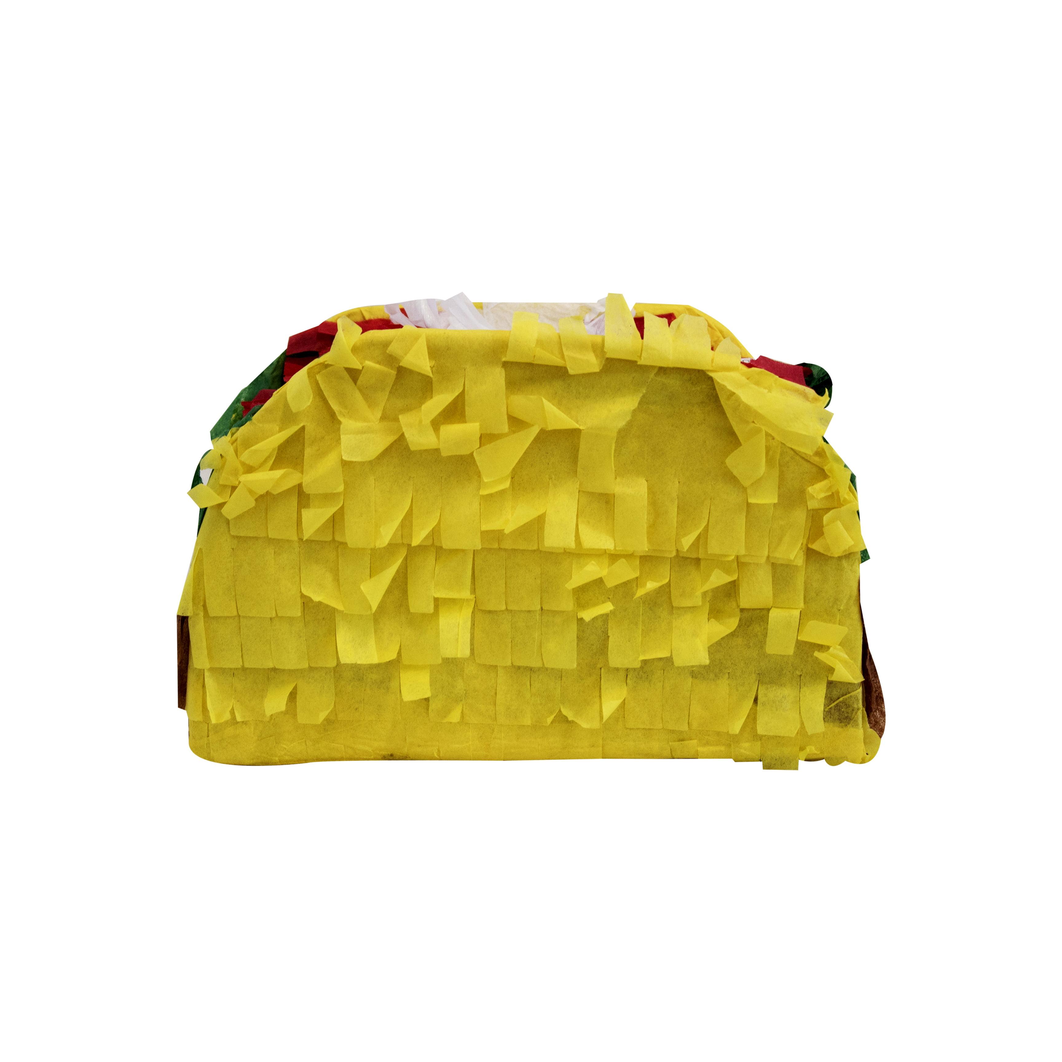 Mini Taco Pinata 17 X 10 In