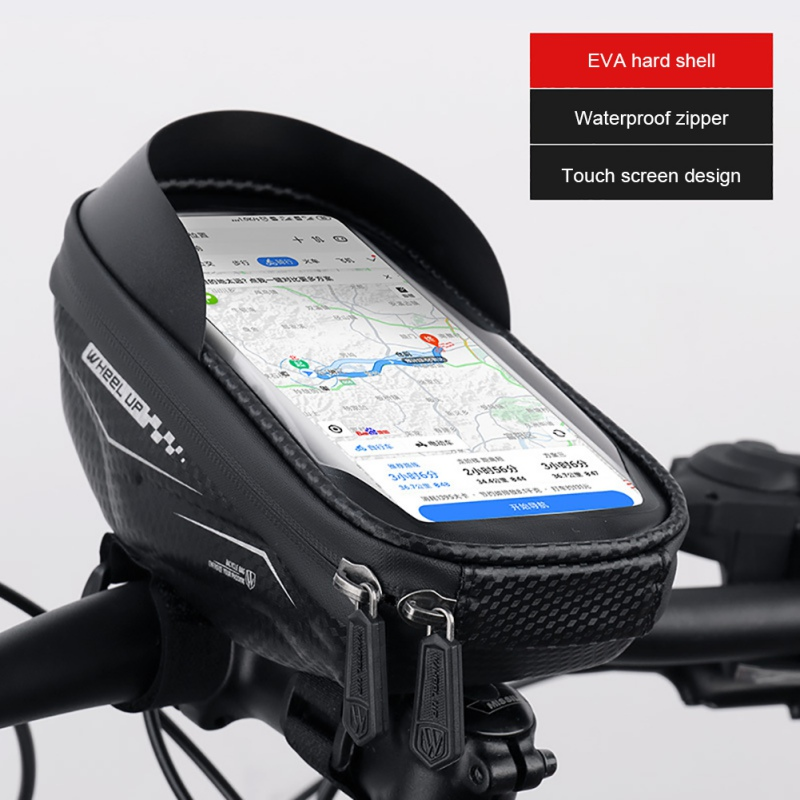 Wheel Up Waterproof Bike Bicycle Front Frame Triangle Bag Tube Pouch Cycling Bag