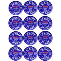 Blistex Lip Medex Cooling Relief for Sore Lips & Moisture 0.25 oz Each (12 Jars)