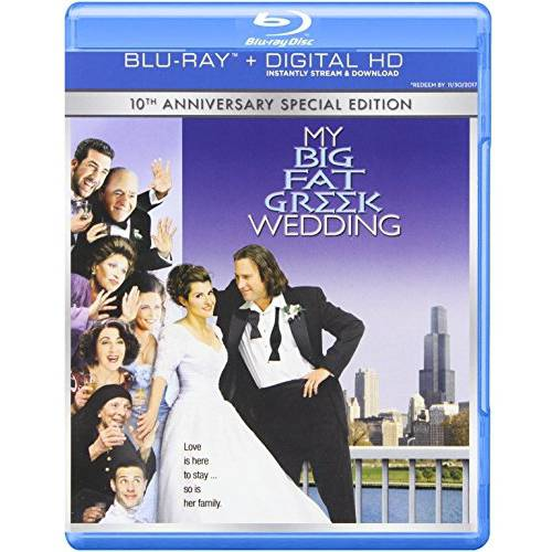 My Big Fat Greek Wedding (Blu-ray + DVD + Digital HD With Ultraviolet) (With INSTAWATCH)