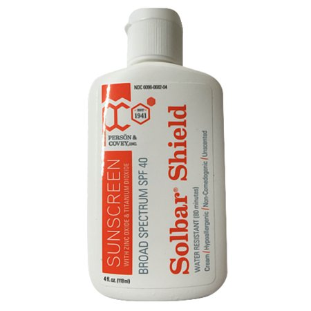 (Solbar Shield Sunscreen With Zinc Oxide Plus Titanium Dioxide, Spf 40 - 4 Oz, 2 Pack)